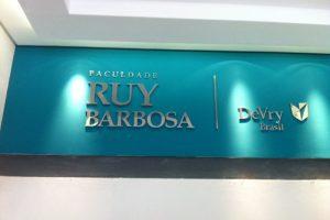 Faculdade Ruy Barbosa – Av. Paralela – Salvador – BA