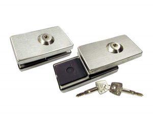 Fechadura de pressão para porta de giro FC07 Inox