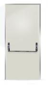 Porta Corta Fogo simples pintura eletrostática.